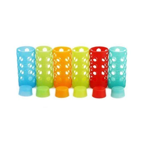 order-online-aquasana-aq-sl-500-multi-rainbow-silicone-sleeves-and-caps-for-18-ounce-glass-bottles-6-pack-2