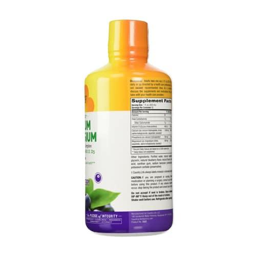 order online Country Life Calcium Magnesium D3 Complex (Blueberry Flavor) 32 oz