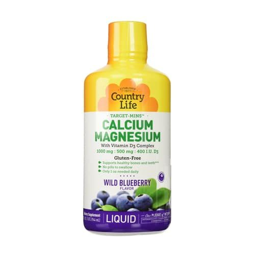 order-online-Country Life Calcium Magnesium D3 Complex (Blueberry Flavor)