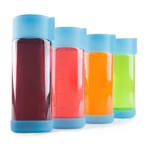 Teikis 18oz Glass Bottles