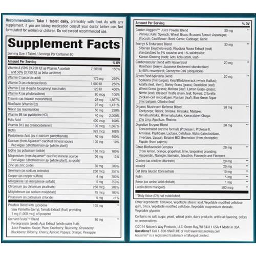 order online Alive Daily Mens Ultra Potency Multi-Vitamin
