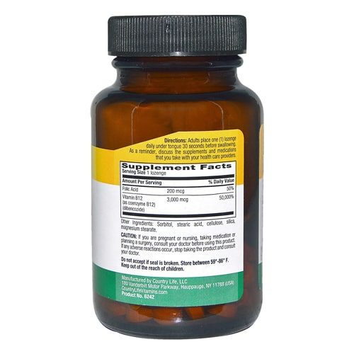 order online Country Life B12 Supplements