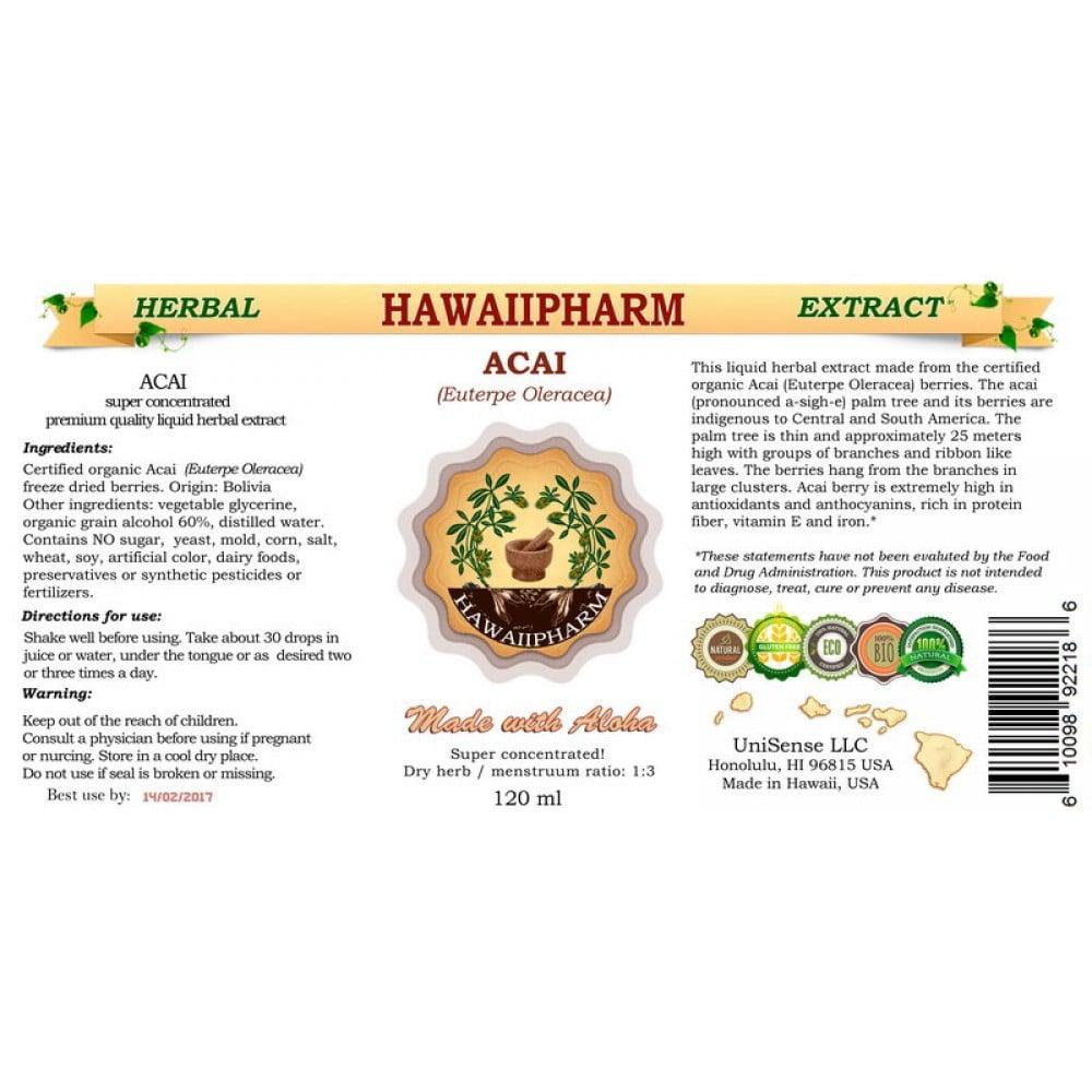 organic acai liquid extract order online