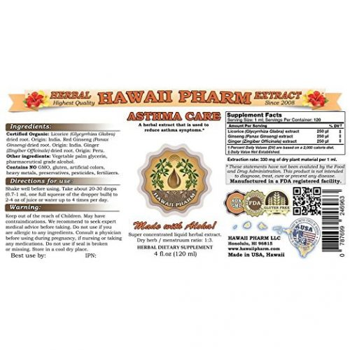 Asthma Care Liquid Extract New York