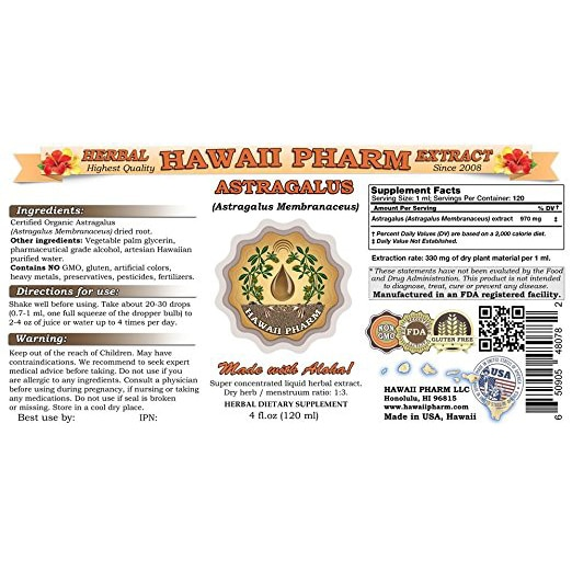 Astragalus Liquid Extract New York