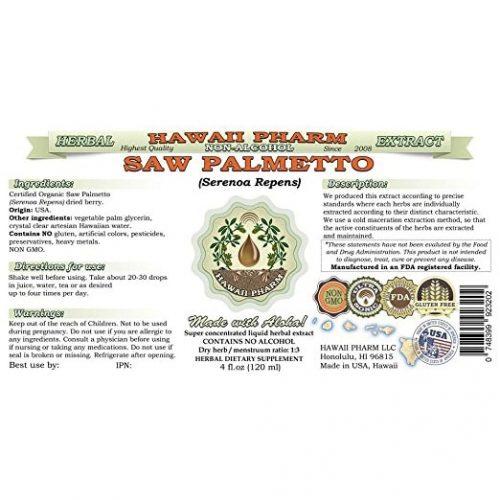 Saw Palmetto Liquid Extract